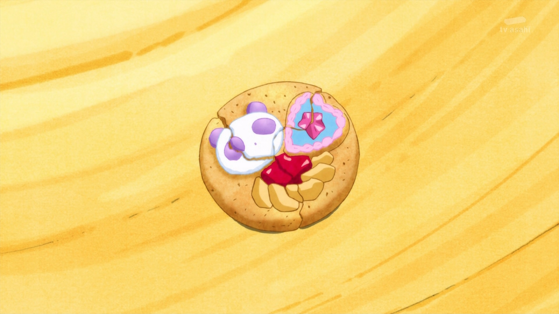 パンダのクッキー(キラキラプリキュアアラモード9話画像)