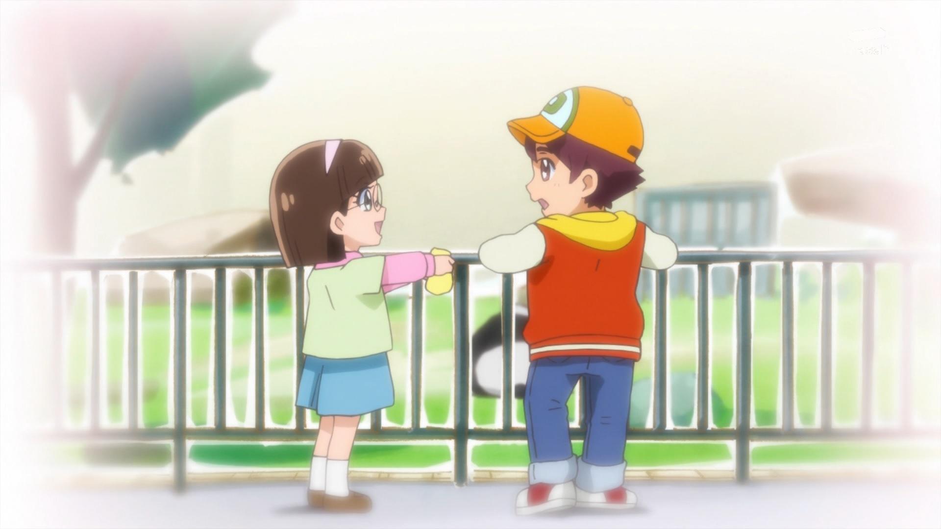 中村みどりと辰巳だいすけ(キラキラプリキュアアラモード9話画像)