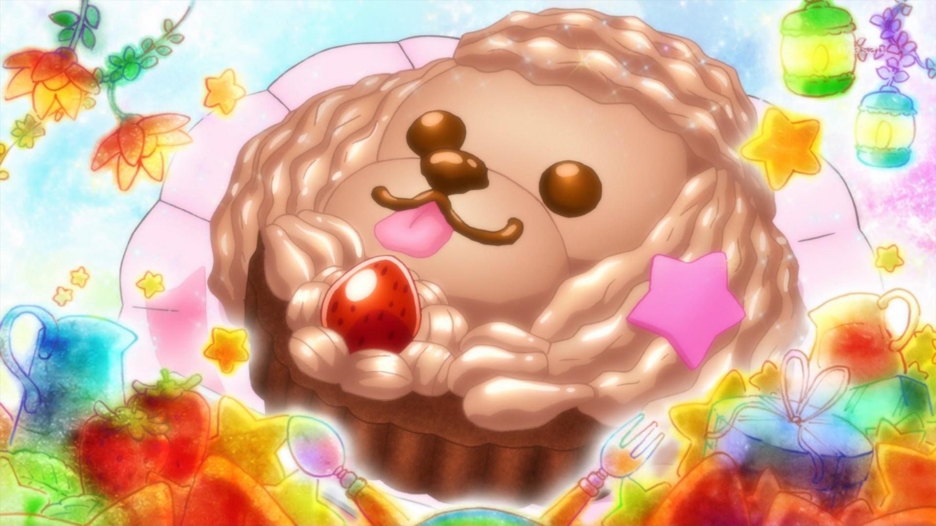プードルチョコケーキ