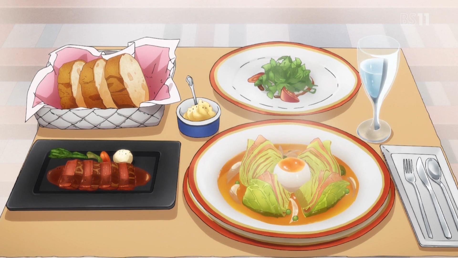 山田エルフの手料理(エロマンガ先生4話画像)
