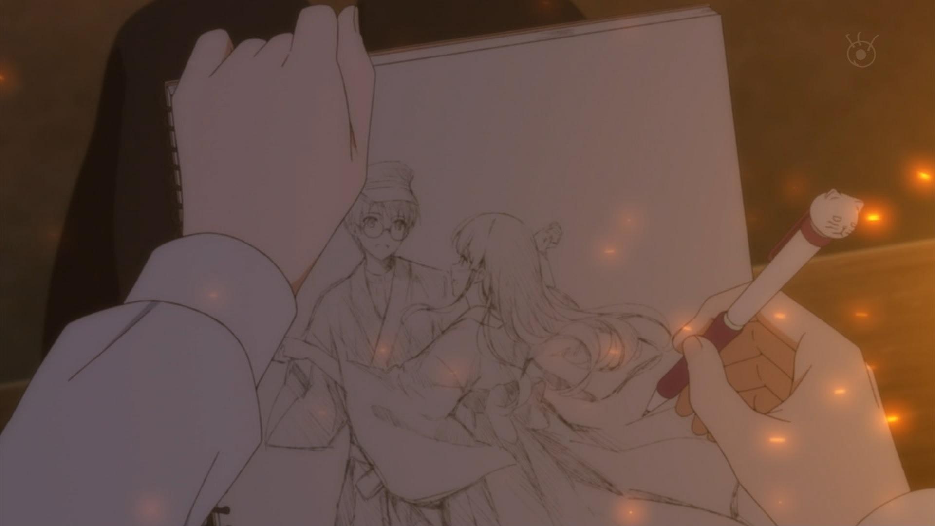澤村スペンサー英梨々が描いた主人公と瑠璃
