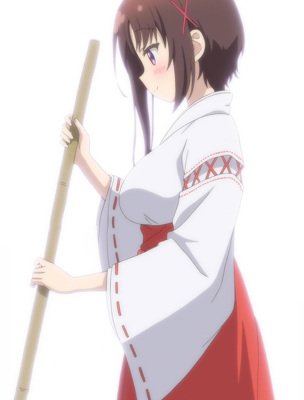 萩野千秋の巫女服,ひなこのーと11話より