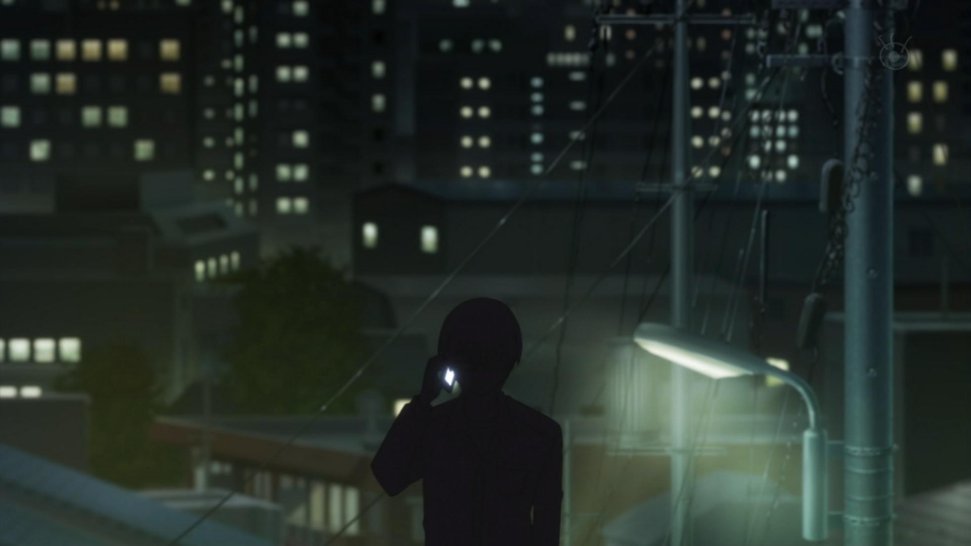 澤村スペンサー英梨々に電話する安芸倫也,冴えない彼女の育てかた9話より