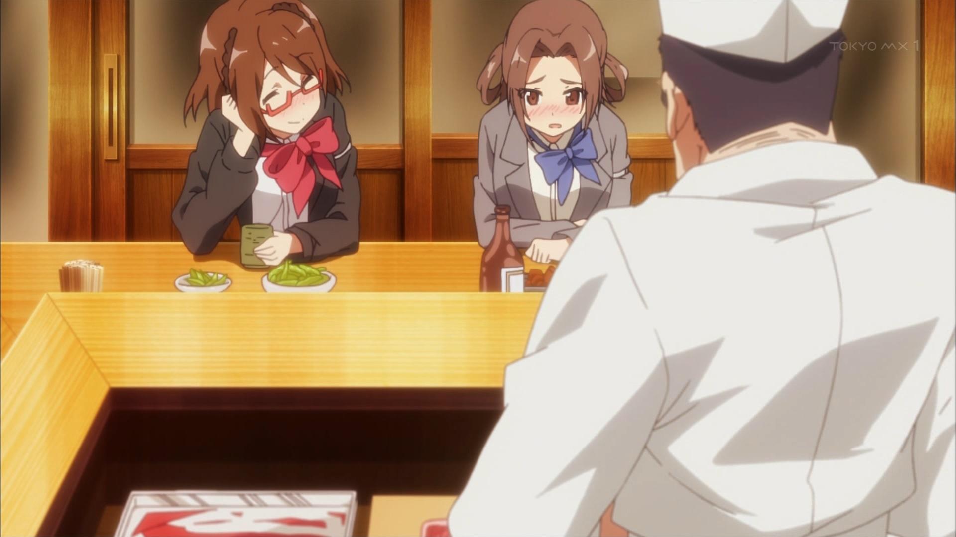 藤崎梨乃と副学園長の飲み
