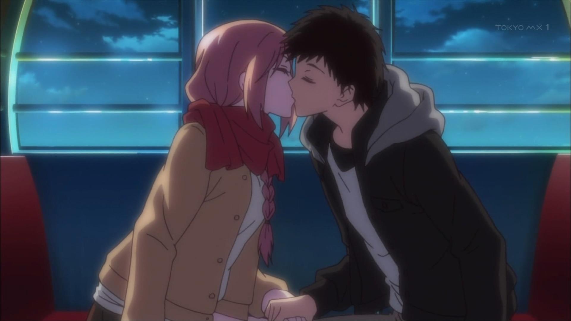 岡崎由真と武田のキス