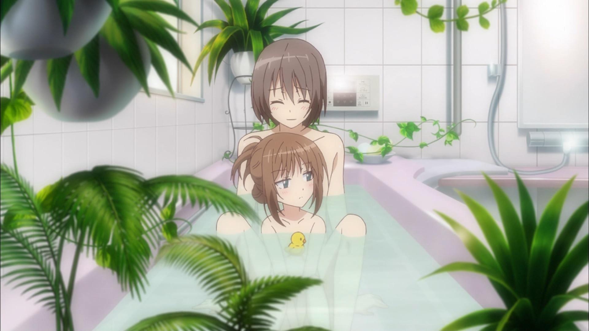 貫井くるみの入浴シーン