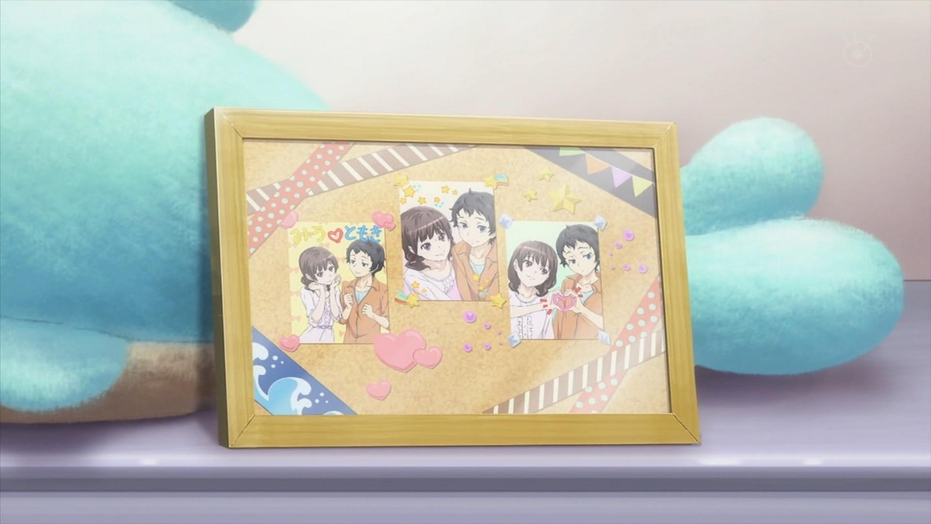坂井知季と野村未羽のプリクラ