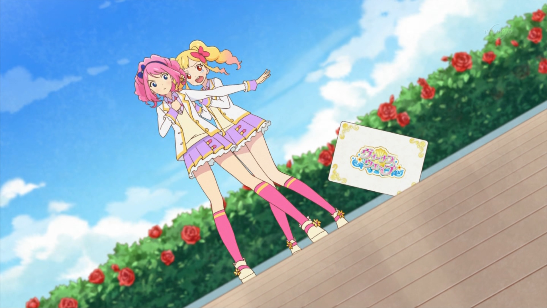 虹野ゆめを守る桜庭ローラ