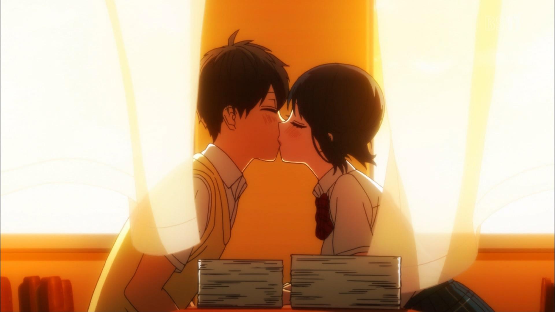 根島由佳吏と高崎美咲のキス
