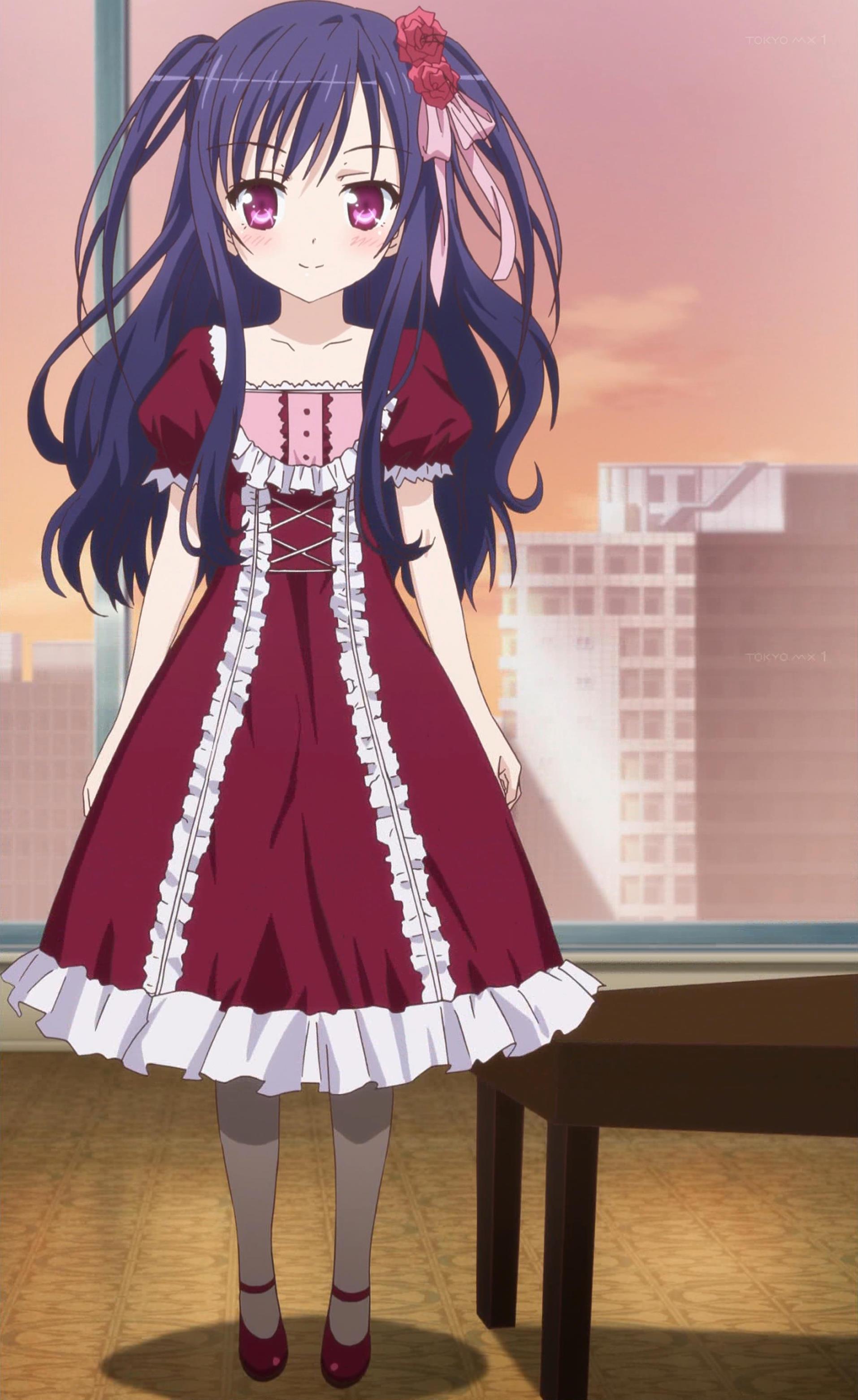 紅葉谷希美のドレス