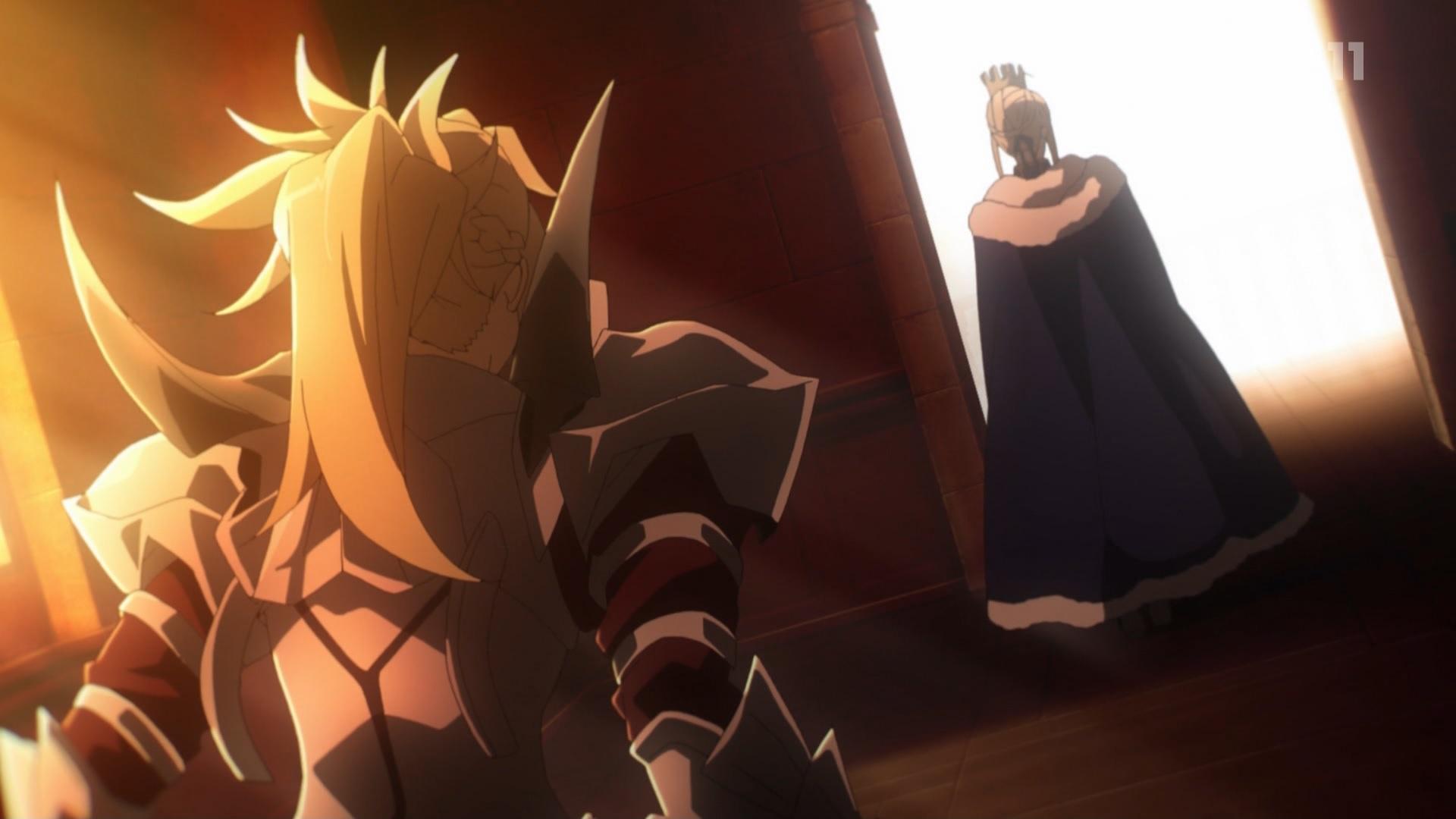 モードレッドとアーサー王