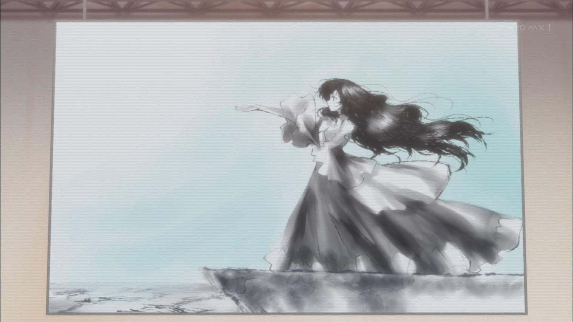 尾城小梅の絵