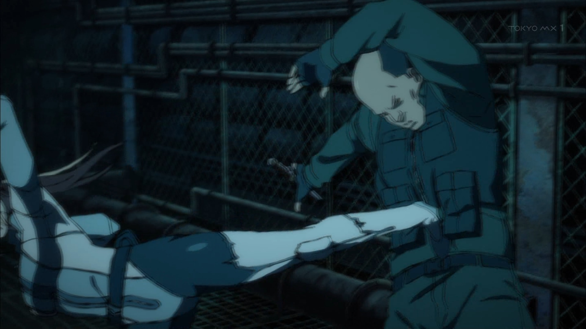 異能肉の戦闘訓練