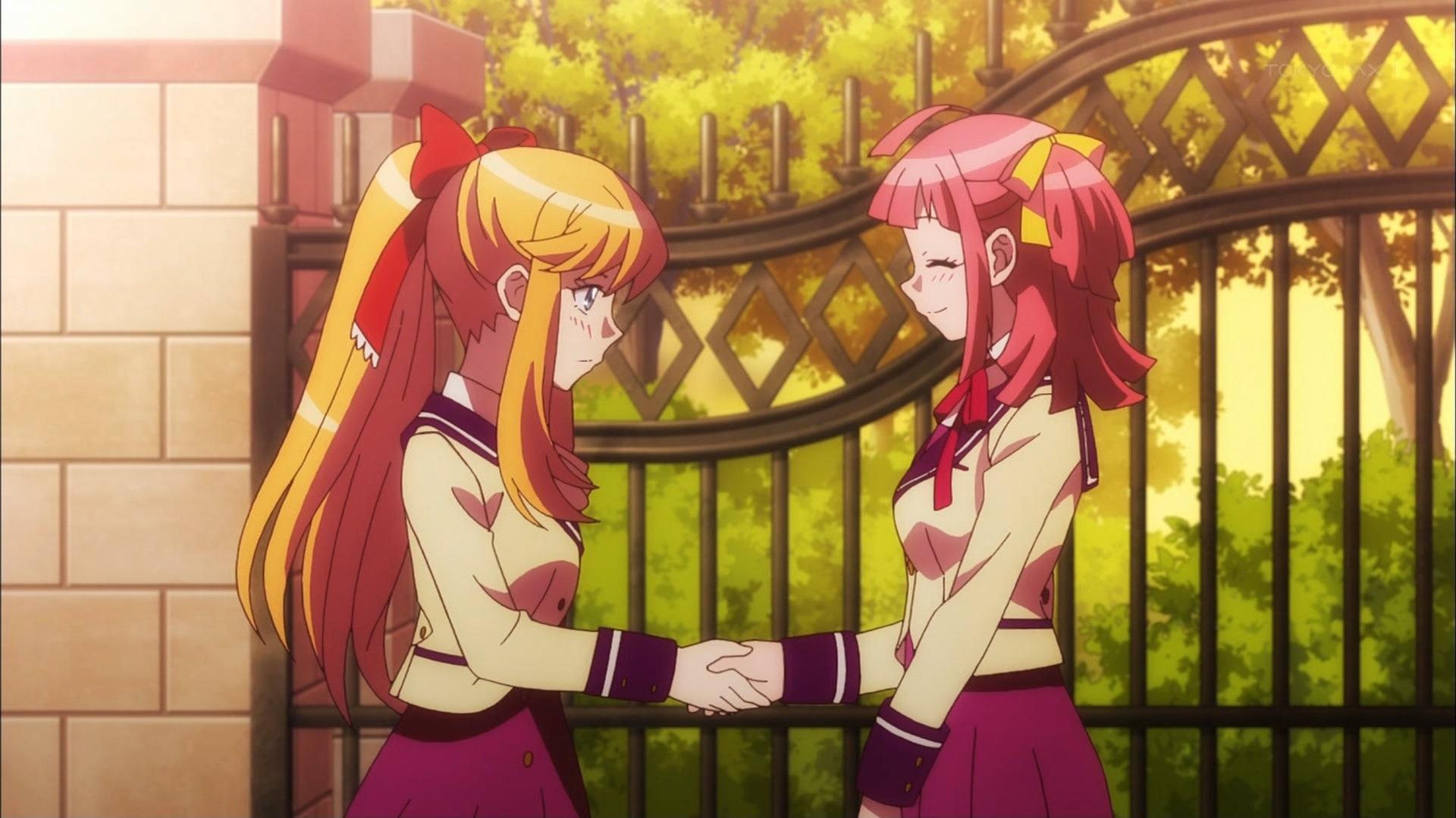 上井草アリスと阿佐ヶ谷みのあの握手