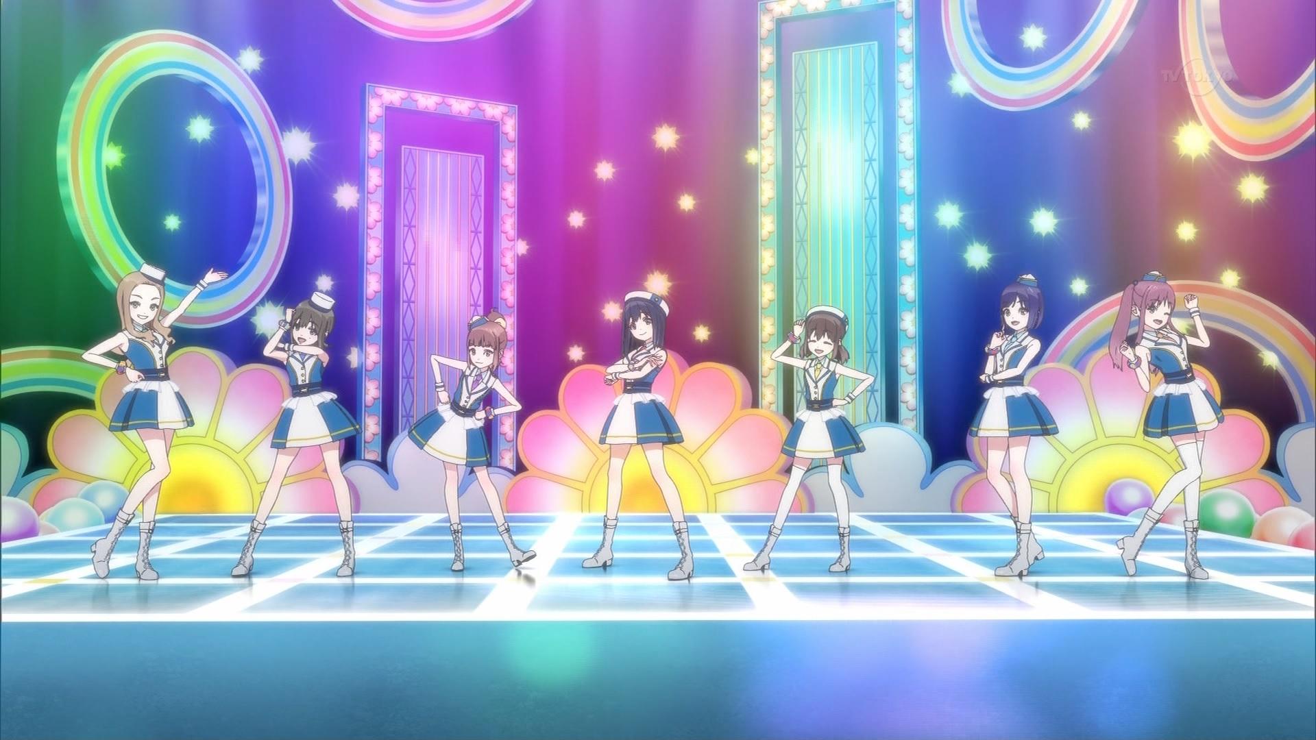 7 Girls Warのライブ