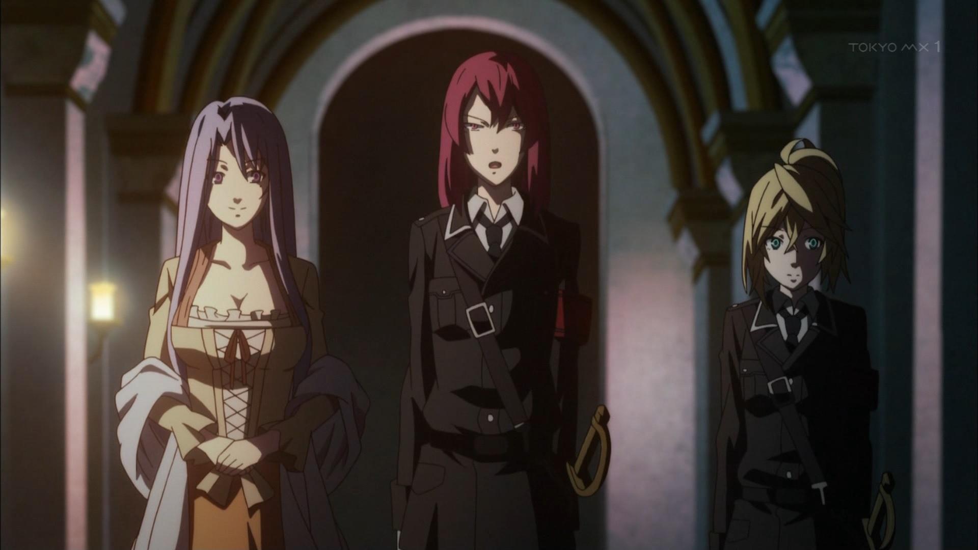 エレオノーレとベアトリスとリザ
