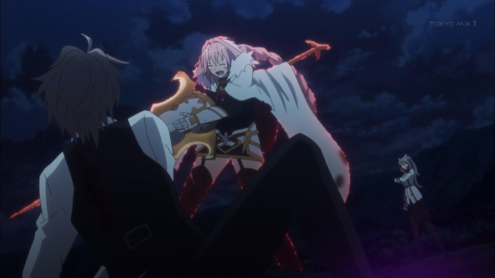 ジークを襲うアストルフォ