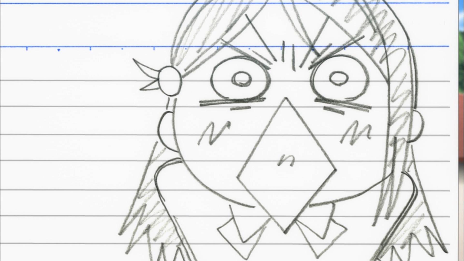 桜内梨子のパラパラ漫画