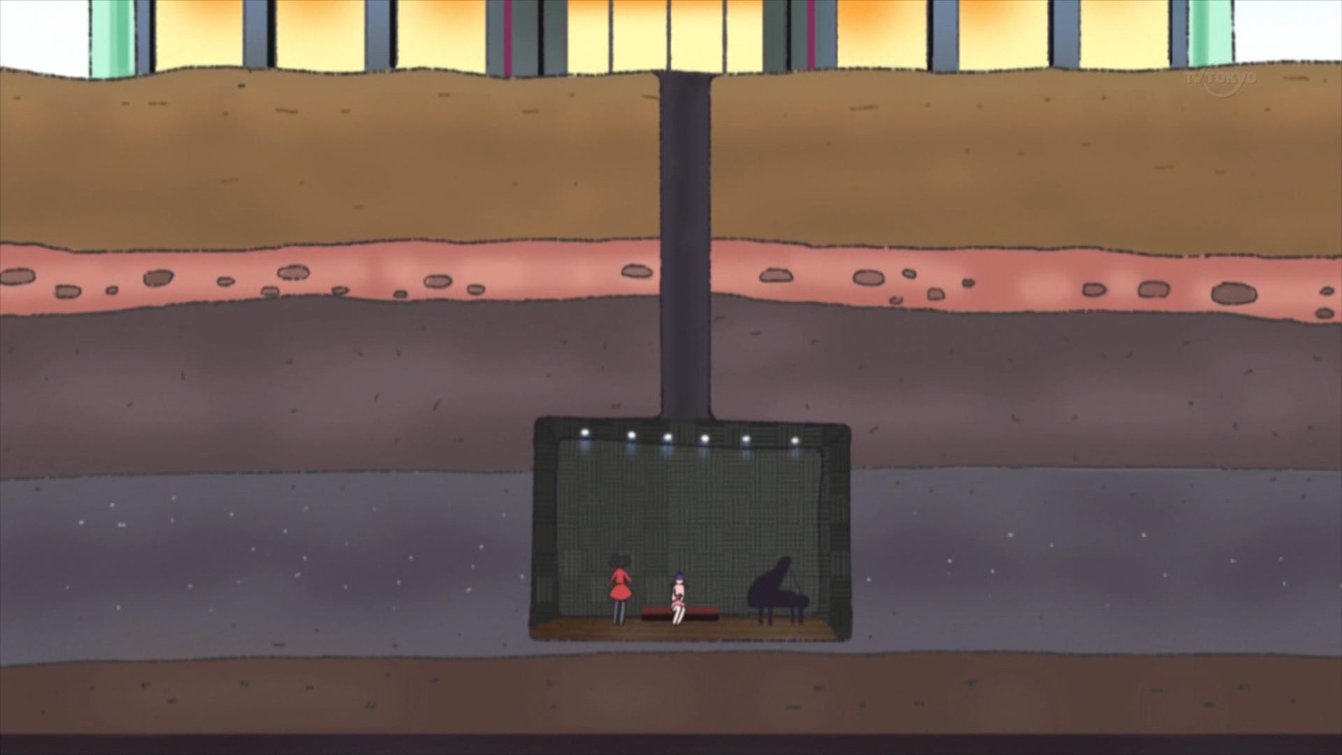 華園しゅうかの地下練習室
