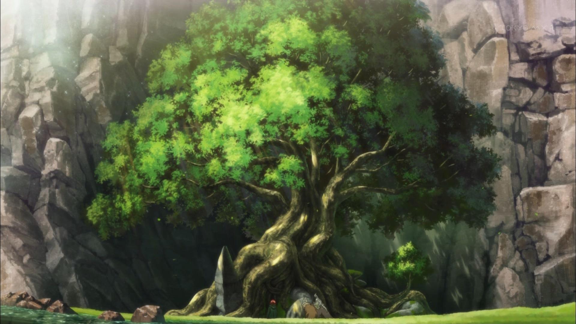 ネヴィンから生えた樹