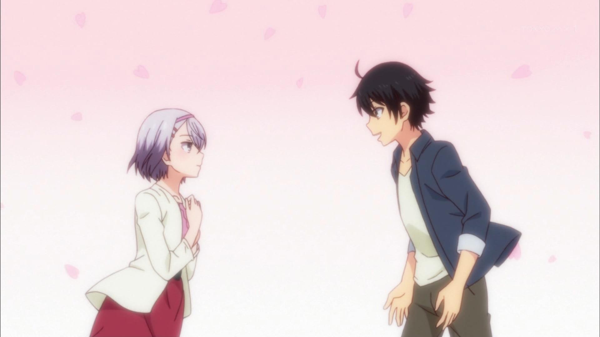 香坂秋穂と篠崎遥のお花見デート