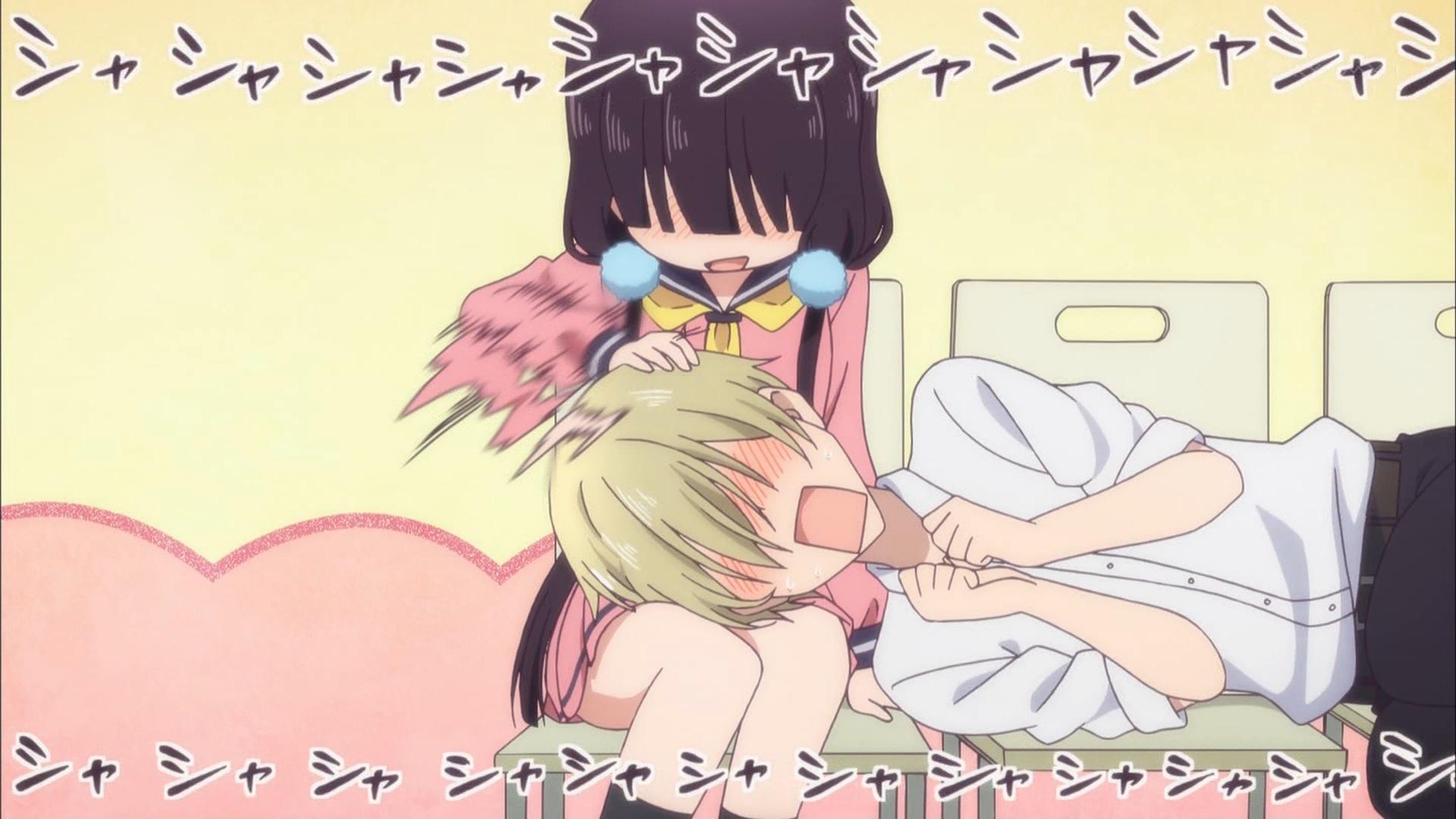 ディーノを膝枕する桜ノ宮苺香