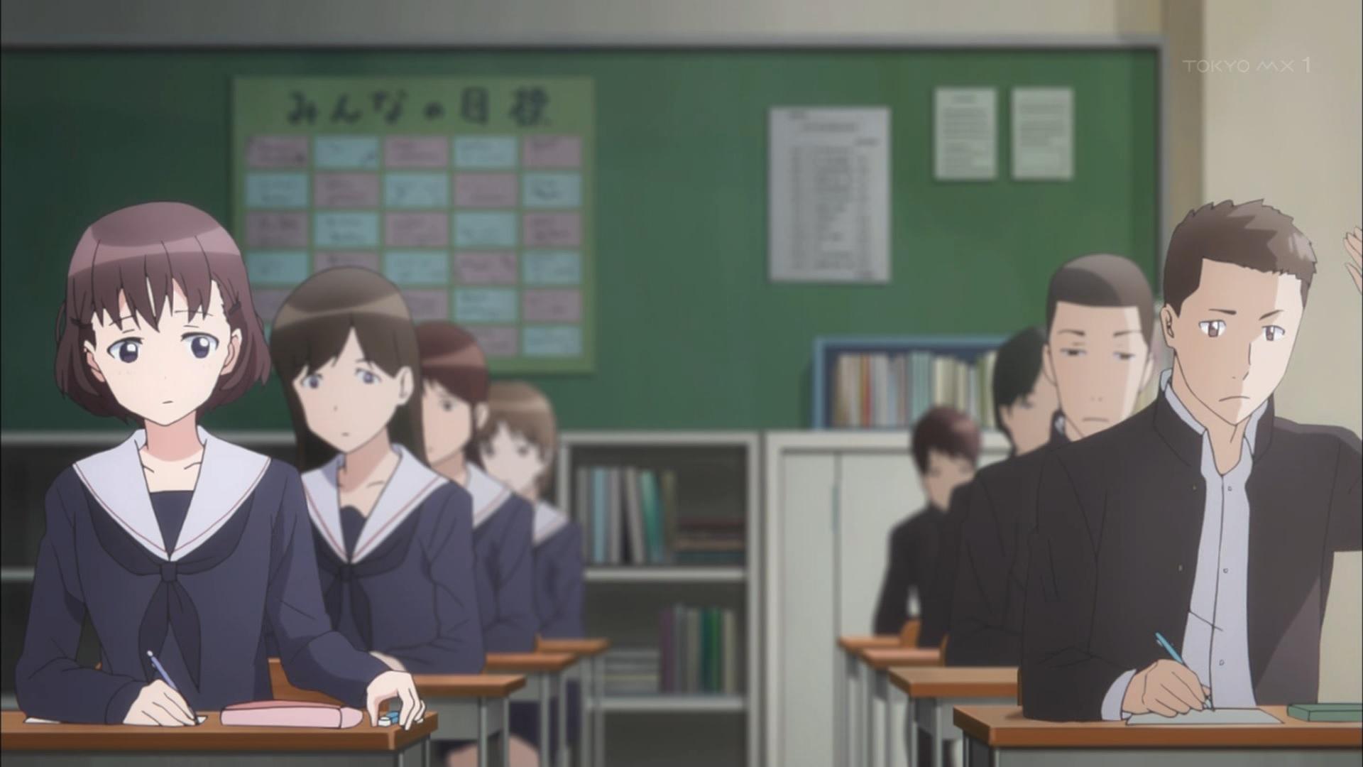 中学時代の夏目美緒と相馬陽斗