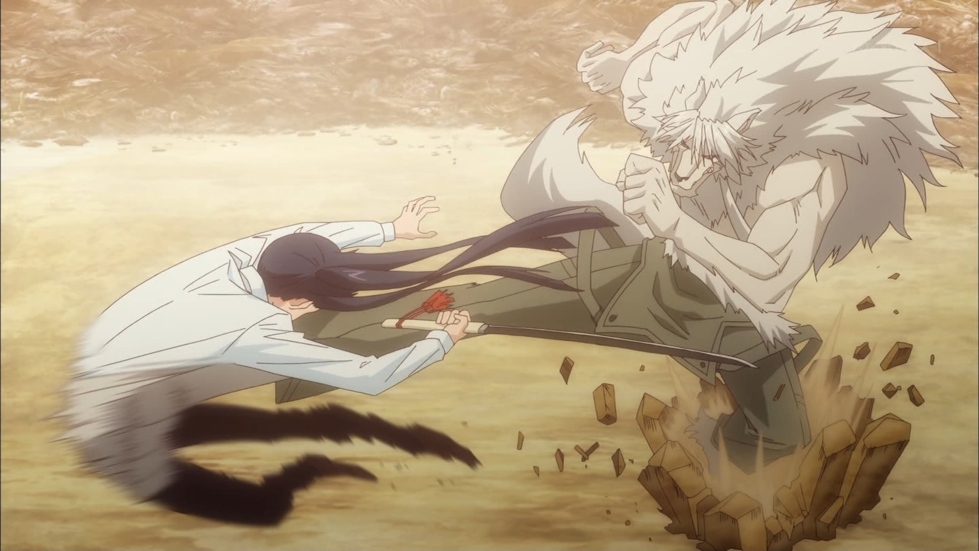 時坂九郎丸を蹴る人狼