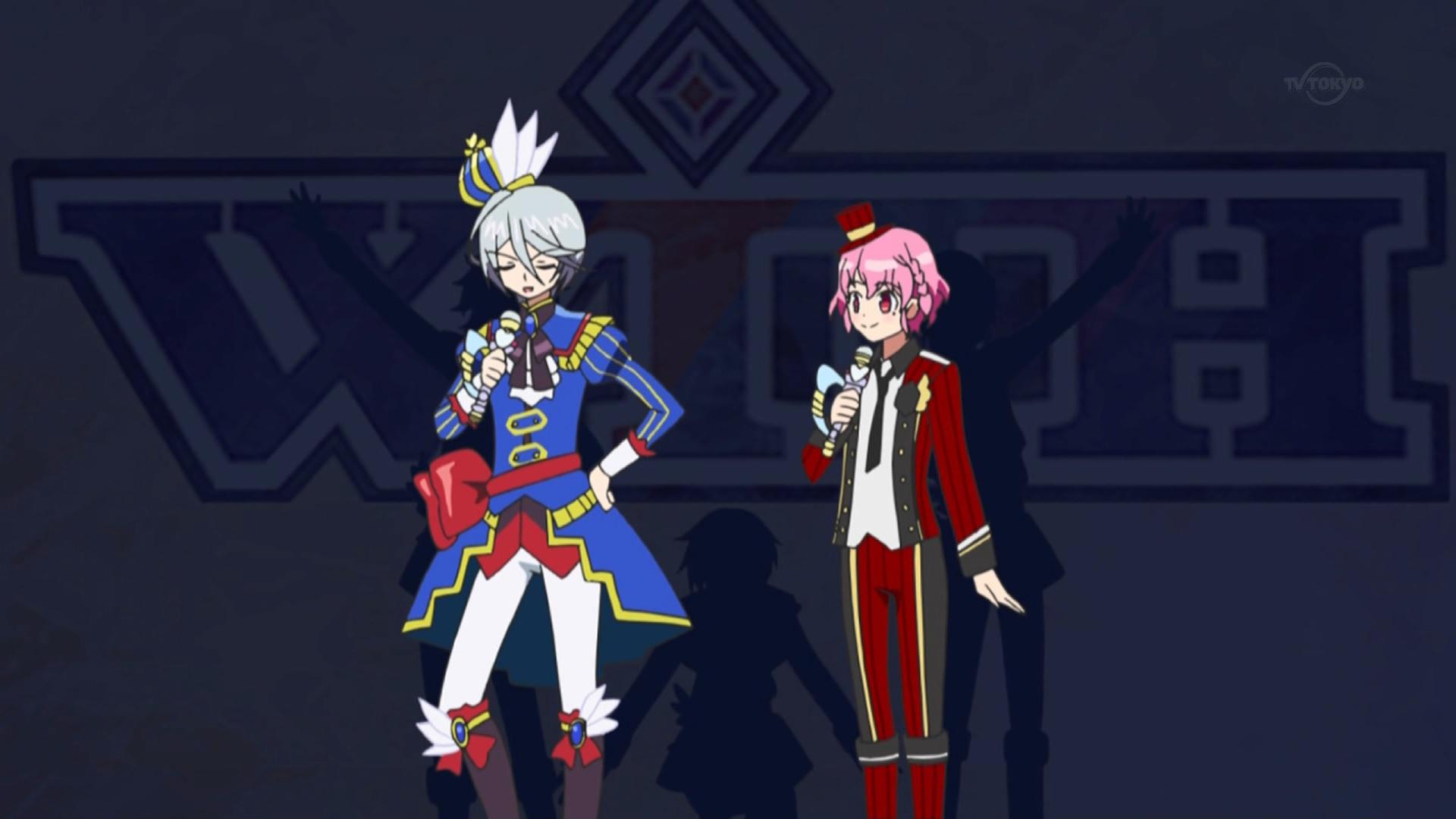 紫京院ひびきとレオナの司会