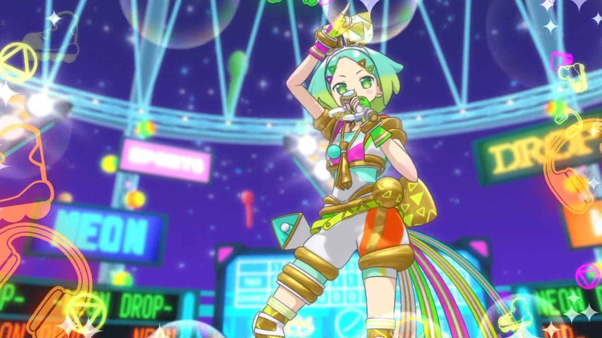 虹色にののライブ