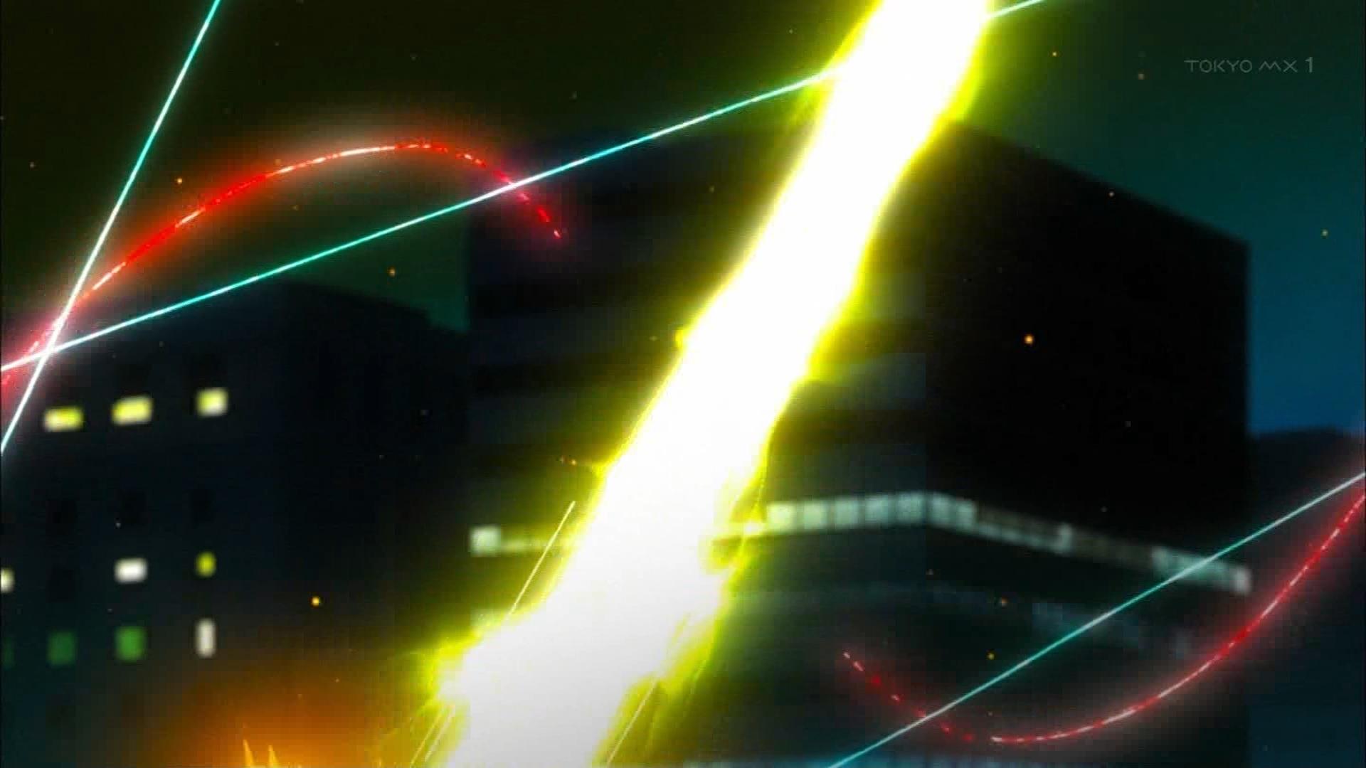 シュピーネの糸を斬るトリファの攻撃