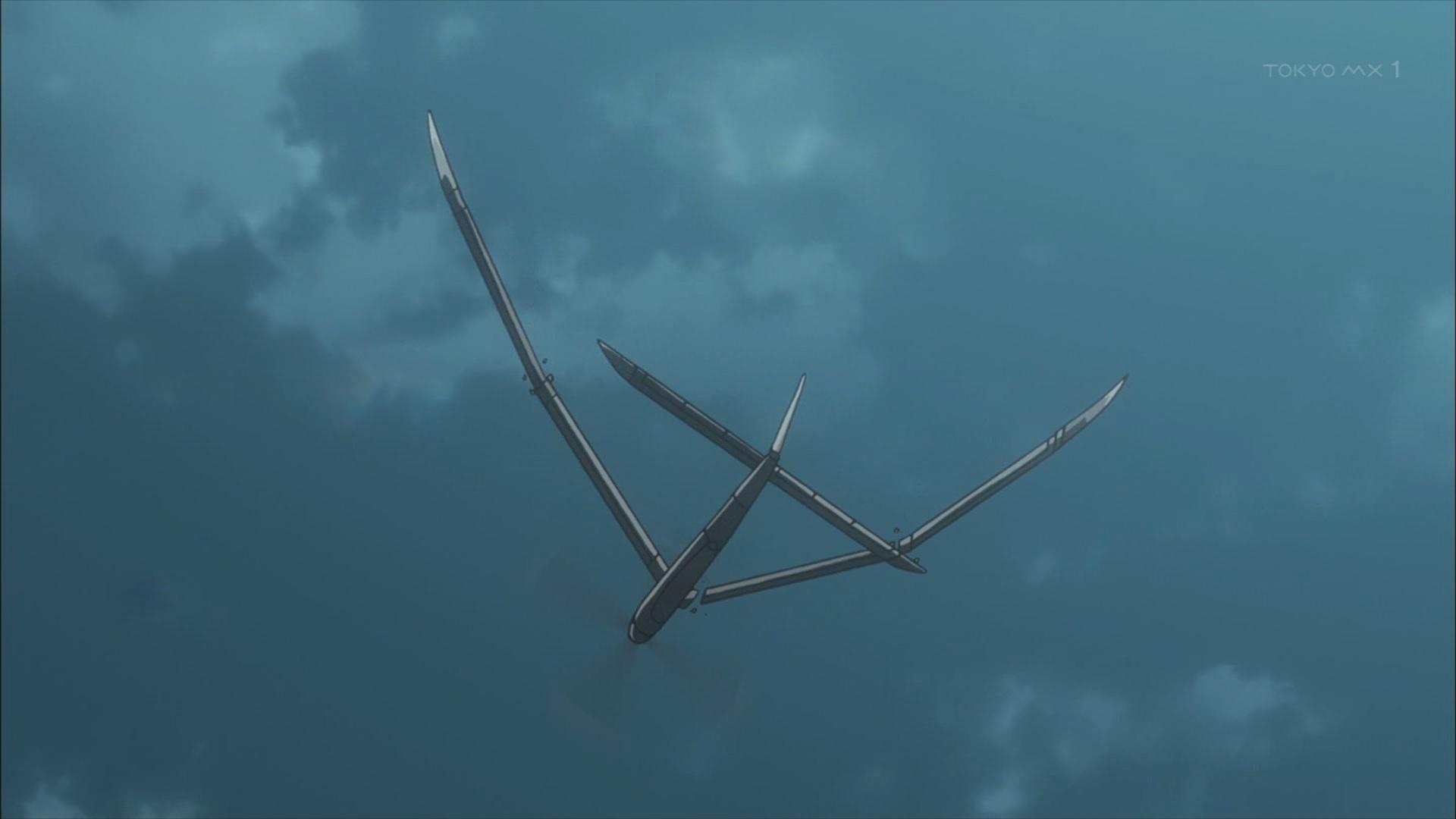 壊れる飛行機