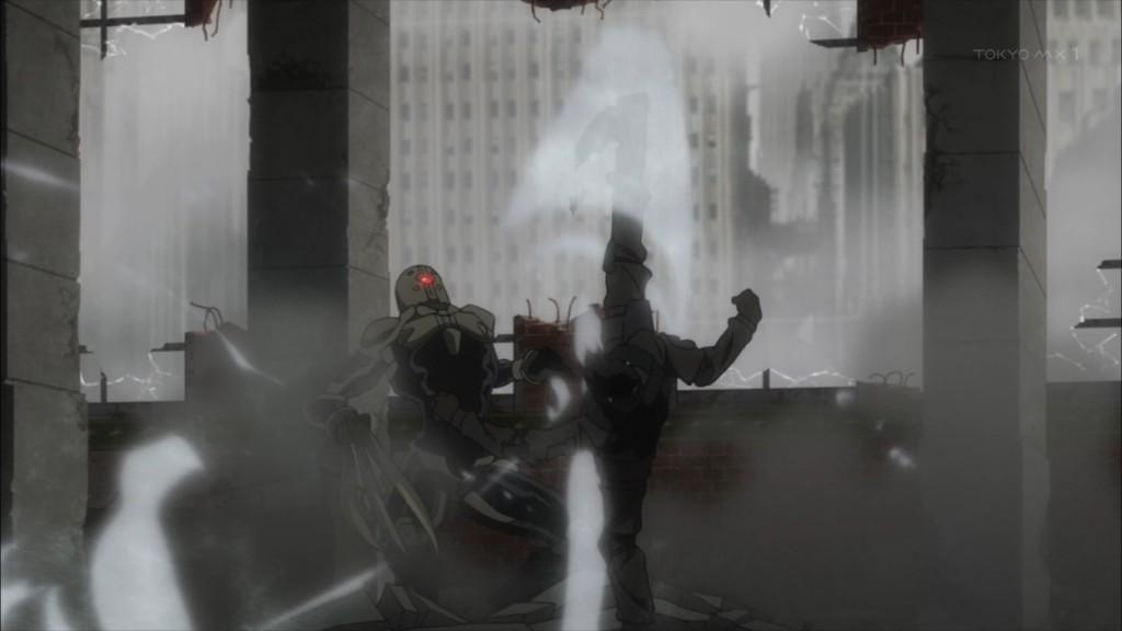 アランフォスターとスティーブンの戦闘