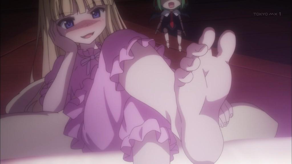 エヴァンジェリンの足