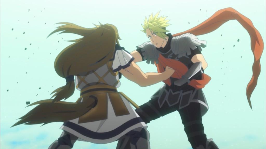 ケイローンとアキレウスの戦闘