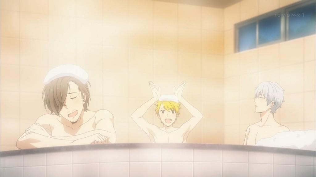 風呂に入るS.E.M