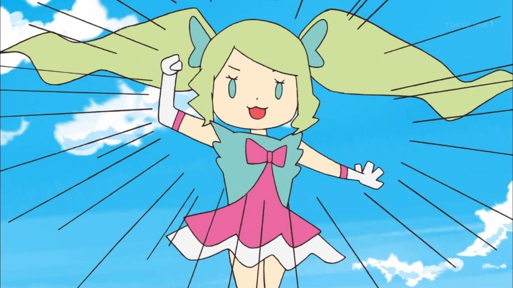 ショートアニメの青山エリカ