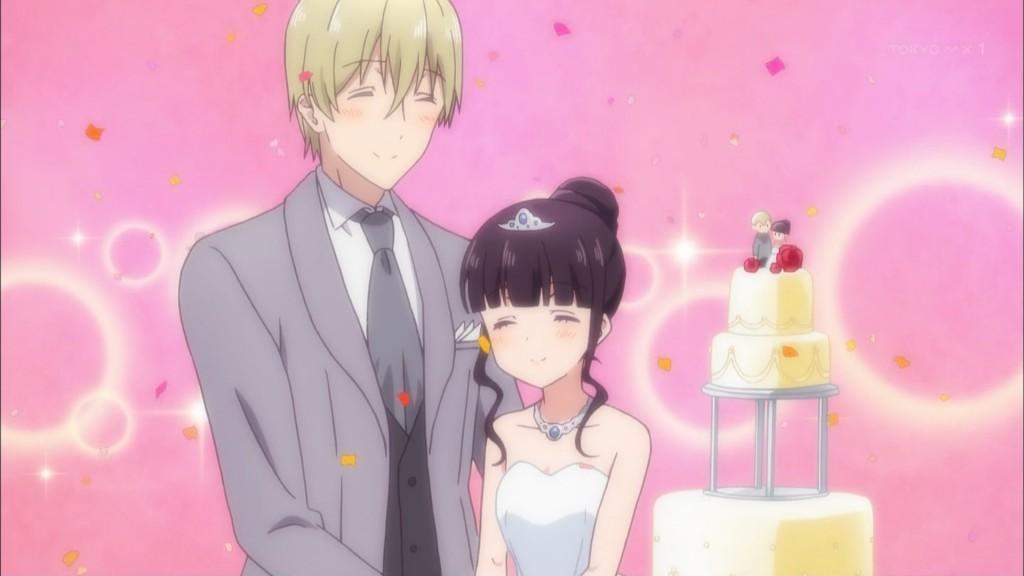 ディーノと桜ノ宮苺香の結婚式