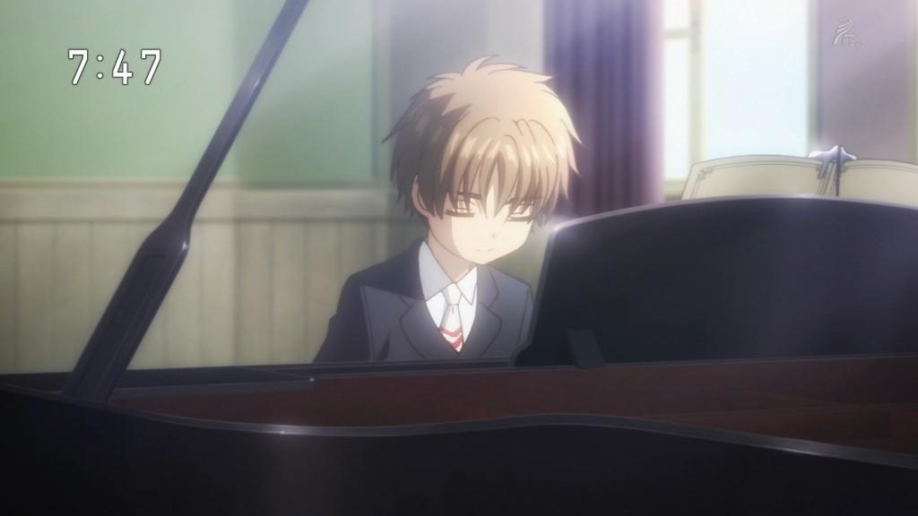 ピアノを弾くシャオラン