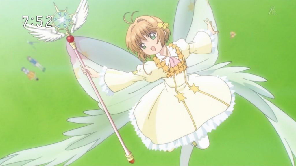 飛翔-FLIGHT-を使う木之本桜