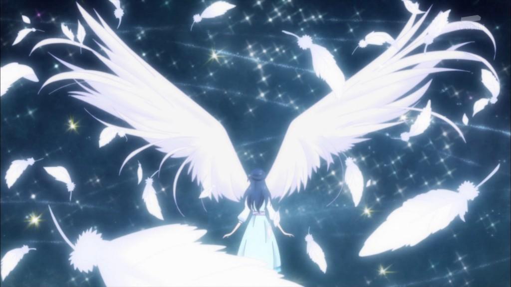 羽が生えた薬師寺さあや