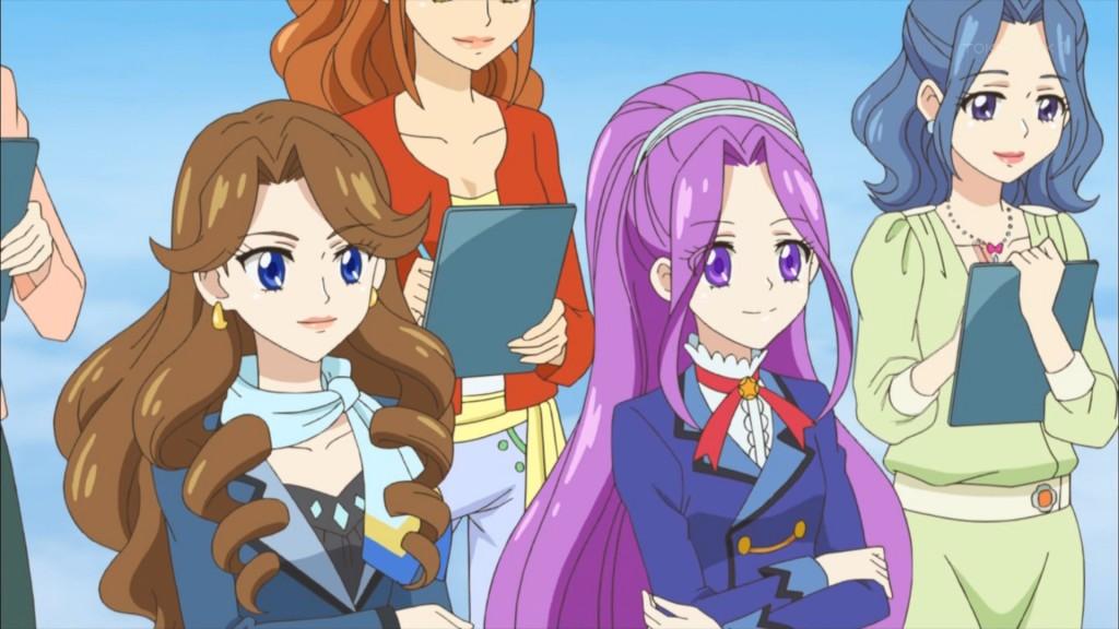 織姫学園長と神崎美月