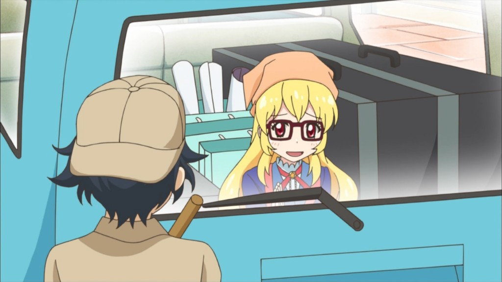 車に潜入する星宮いちご