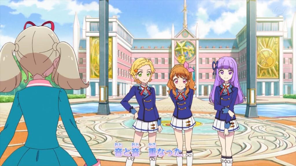 アイカツオンパレード!のオープニングアニメーション6