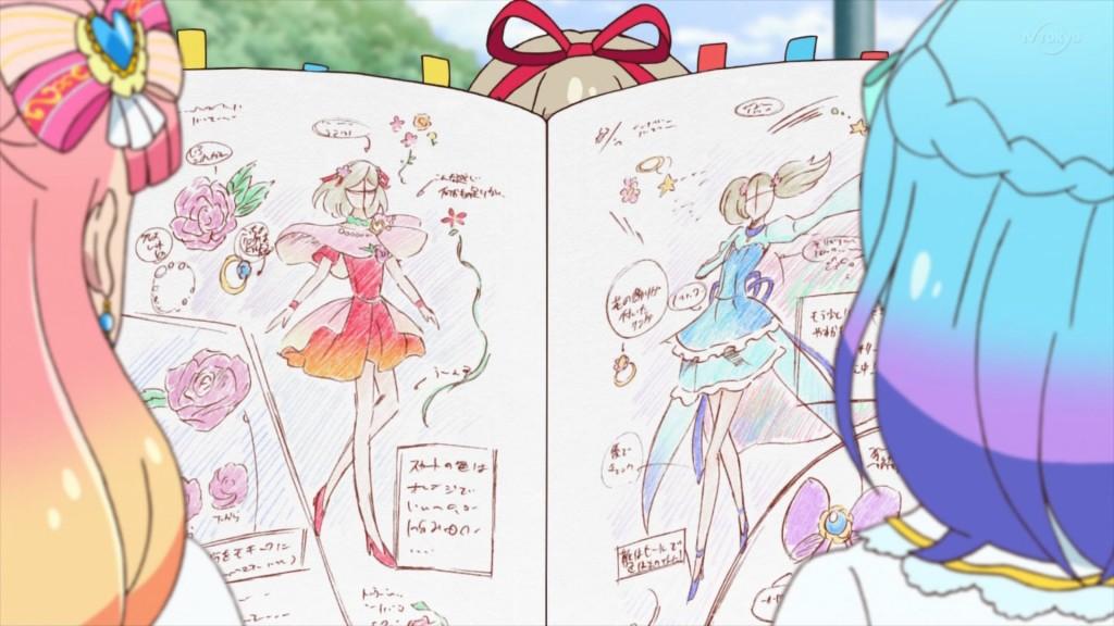 姫石らきのデザインノート