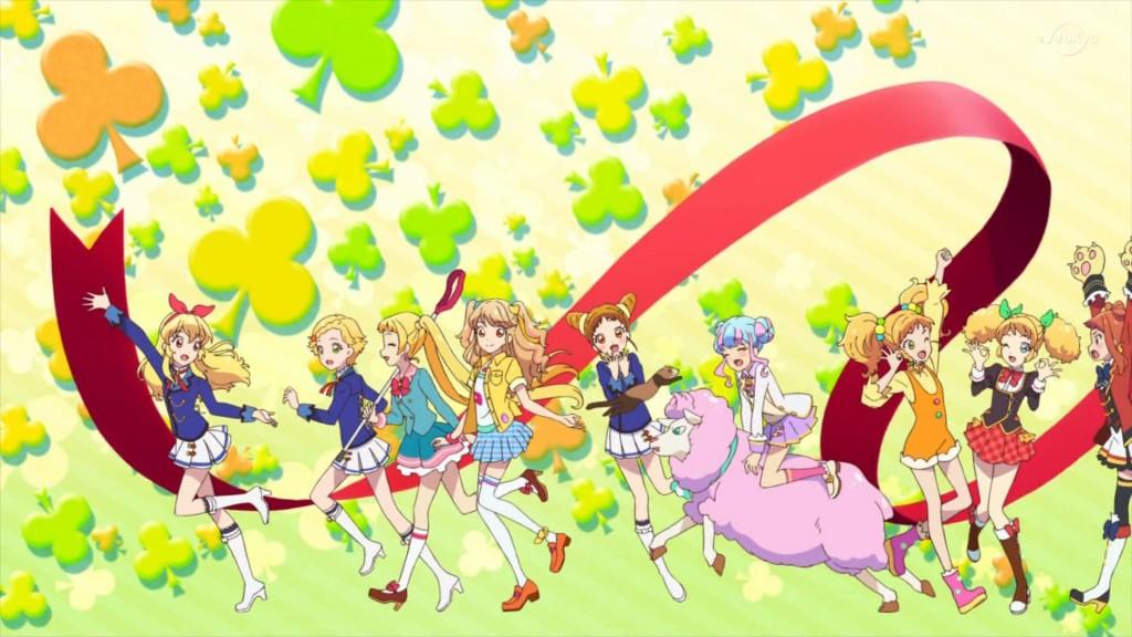 アイカツオンパレード!のエンディングアニメーション1