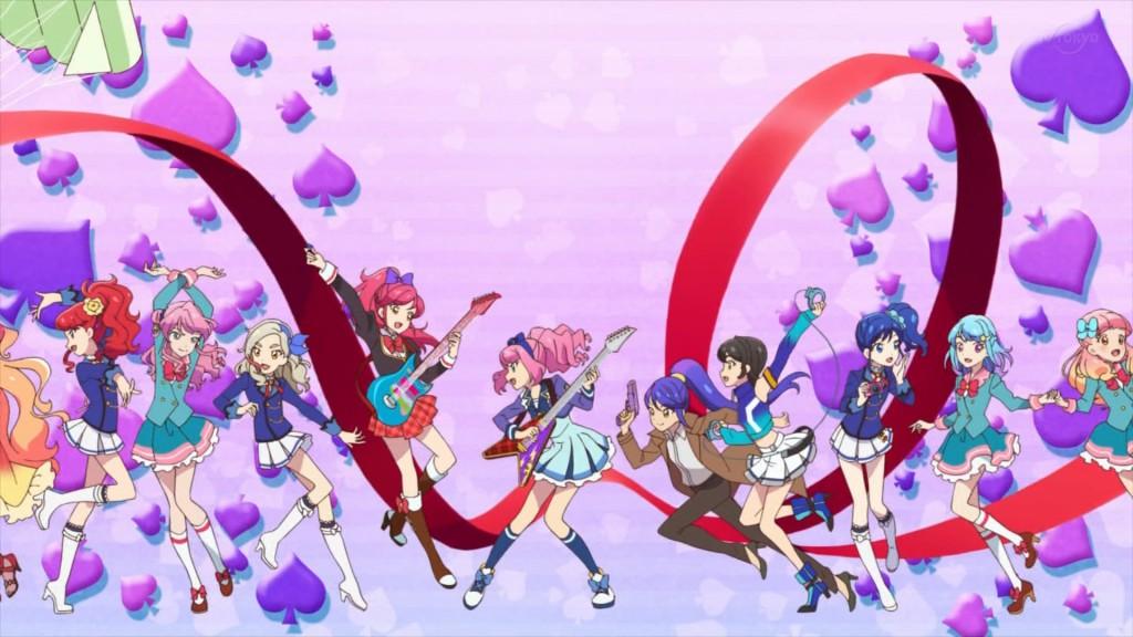 アイカツオンパレード!のエンディングアニメーション3