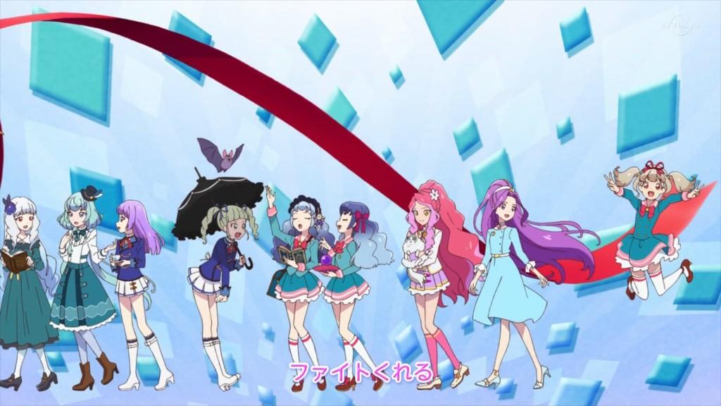アイカツオンパレード!のエンディングアニメーション7