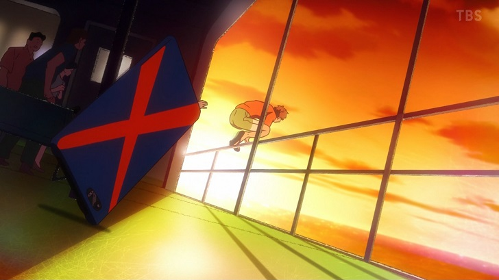 千鶴を助けに行く和也