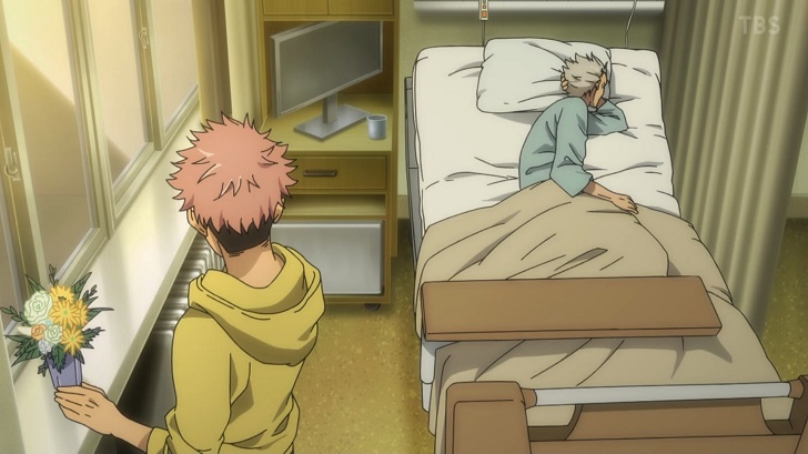 虎杖悠仁と祖父